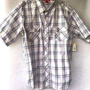 Montage Casual Shirt Men's Button XXL